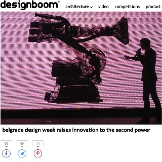 BDW 2013 Raises Innovation to the Second Power by Designboom, IT
